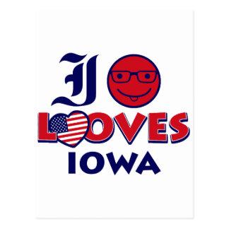 Idaho lovers Design Postcard
