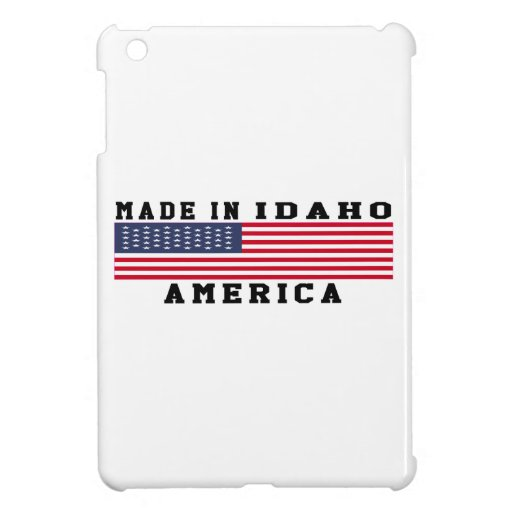Idaho Made In Designs Cover For The iPad Mini
