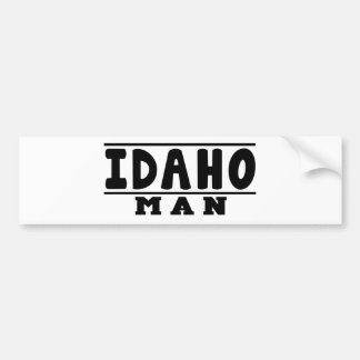 Idaho Man Designs Car Bumper Sticker