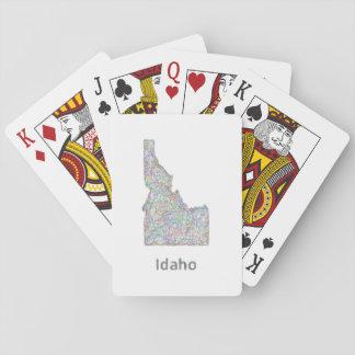Idaho map card decks