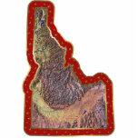 Idaho Map Christmas Ornament Cut Out