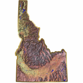 Idaho Map Magnet Cut Out