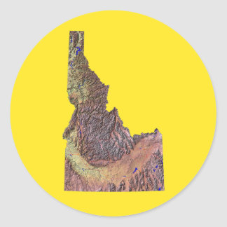 Idaho Map Sticker