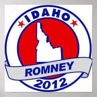 Idaho Mitt Romney Impresiones