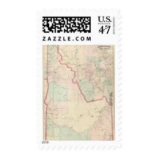 Idaho, Montana Western Portion Postage