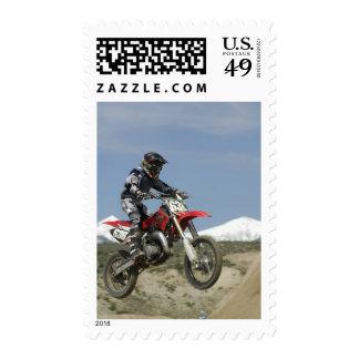 Idaho, motocrós que compite con, el competir con franqueo