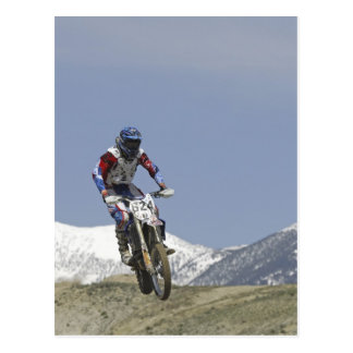 Idaho, motocrós que compite con, motocicleta 2 que tarjetas postales
