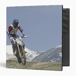 Idaho Motocross Racing Motorcycle Racing 2 Binder