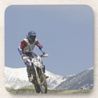 Idaho, Motocross Racing, Motorcycle Racing 2 Beverage Coasters