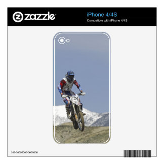 Idaho, Motocross Racing, Motorcycle Racing 2 Decals For The iPhone 4S
