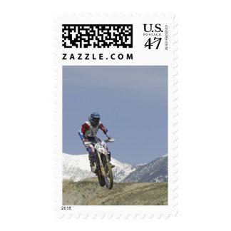Idaho, Motocross Racing, Motorcycle Racing 2 Stamp