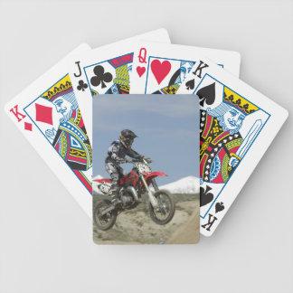 Idaho, Motocross Racing, Motorcycle Racing Bicycle Playing Cards