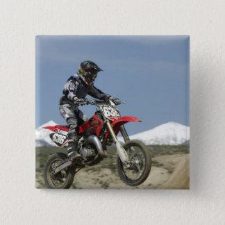 Idaho, Motocross Racing, Motorcycle Racing Button