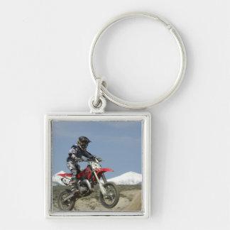 Idaho, Motocross Racing, Motorcycle Racing Keychain
