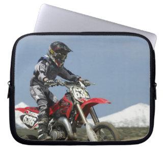 Idaho, Motocross Racing, Motorcycle Racing Computer Sleeves