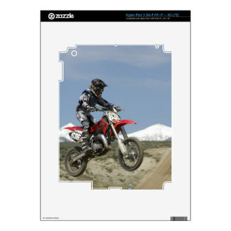 Idaho, Motocross Racing, Motorcycle Racing Decal For iPad 3