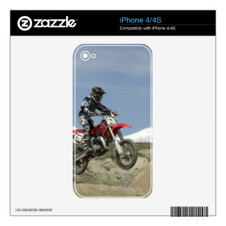 Idaho, Motocross Racing, Motorcycle Racing Skin For The iPhone 4S