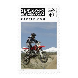 Idaho, Motocross Racing, Motorcycle Racing Stamp