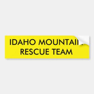 IDAHO MOUNTAIN RESCUE TEAM BUMPER STICKER