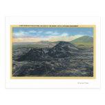 Idaho National Park Big Crater Rim Post Card
