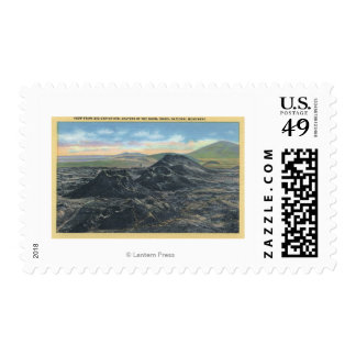 Idaho National Park Big Crater Rim Postage Stamp