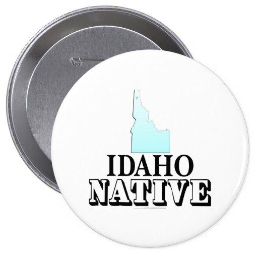 Idaho Native Pinback Buttons