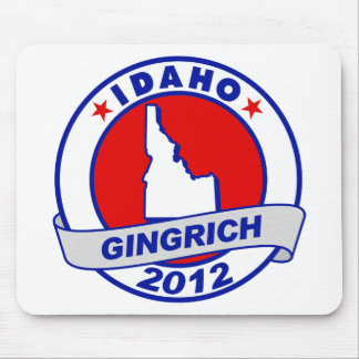 Idaho Newt Gingrich Mouse Pad