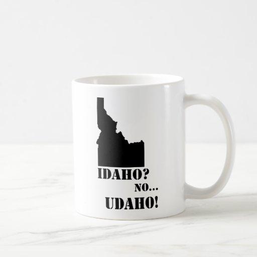 Idaho ningún mapa de Udaho Taza Clásica