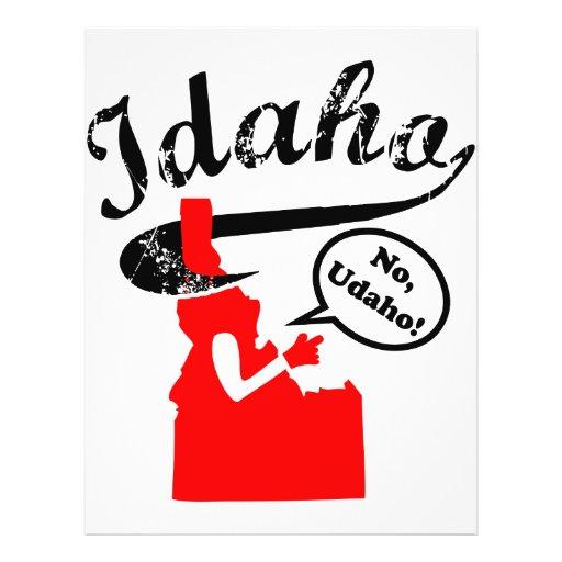 Idaho - No Udaho Full Color Flyer