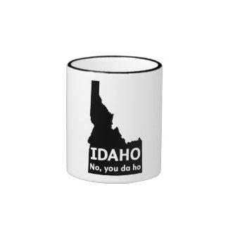 Idaho No, You Da Ho Ringer Mug