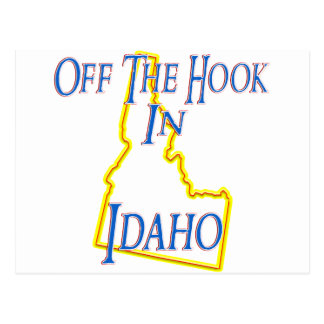 Idaho - Off The Hook Postcard