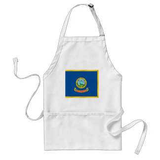 Idaho  Official State Flag Adult Apron