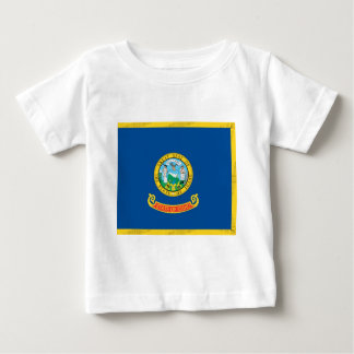 Idaho  Official State Flag Baby T-Shirt