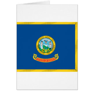 Idaho  Official State Flag Card