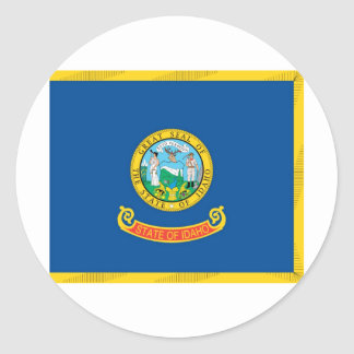 Idaho  Official State Flag Classic Round Sticker