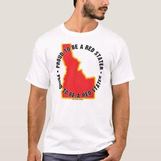 Idaho: ¡Orgulloso ser una camiseta roja de Stater!