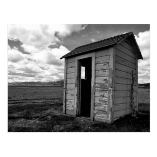 Idaho Outhouse Postcard