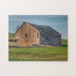 Idaho Palouse Old Barn Puzzle