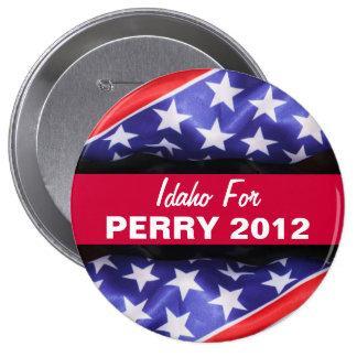 Idaho para el botón de PERRY 2012 Pins