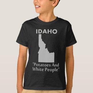 Idaho - patatas y gente blanca playera