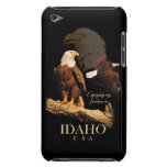 Idaho Patriot Eagle Montage Barely There iPod Case