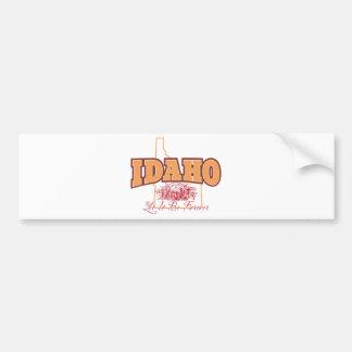 Idaho Pegatina Para Auto