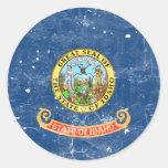 Idaho Pegatina Redonda