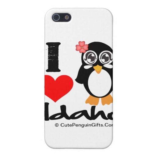 Idaho Penguin - I Love Idaho Covers For iPhone 5