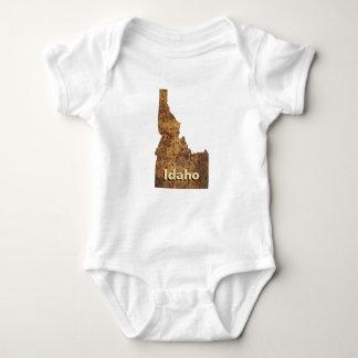 Idaho perfora el mapa mameluco de bebé