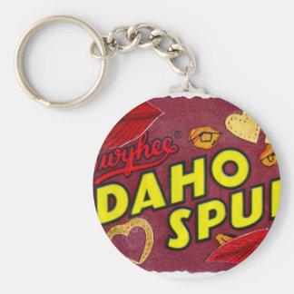Idaho perfora la envoltura de caramelo llaveros