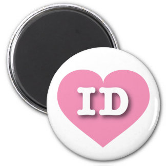Idaho Pink Heart - Big Love Magnet
