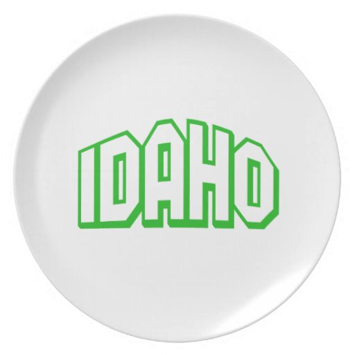 Idaho Plato Para Fiesta