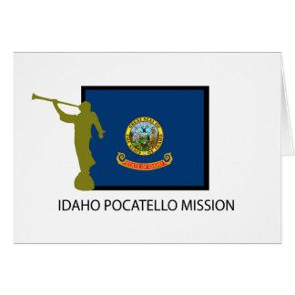 IDAHO POCATELLO MISSION LDS CTR CARD