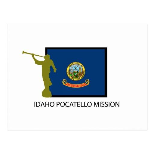 IDAHO POCATELLO MISSION LDS CTR POSTCARD